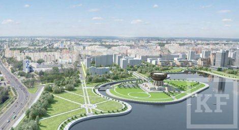 В Казани появится каскад скверов