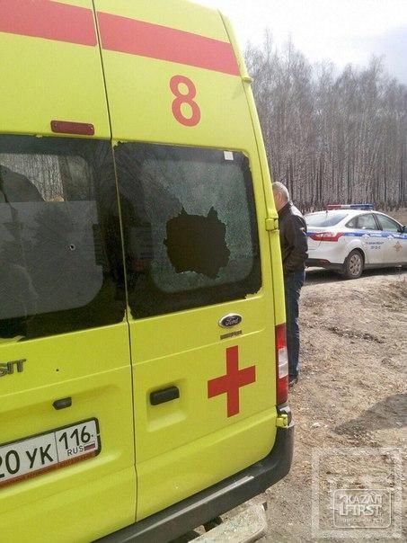 На базе МВД в поселке Мирный в Казани в перестрелке погибли три человека