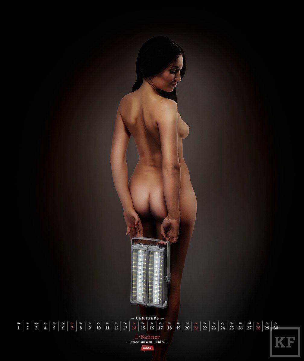 Казанская компания выпустила эротический календарь на 2014 год