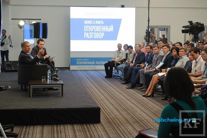 Минниханов — предпринимателям: «Мы с вами в одной лодке. Мы должны друг другу помогать»