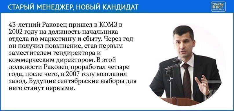КОМЗ включился в выборы в Госсовет и будет спонсировать кампанию своего гендиректора