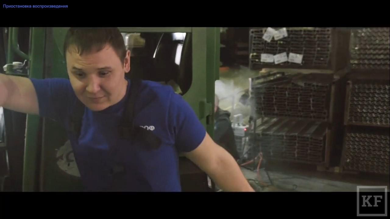 Рабочие «Татпрофа» сняли жизненную пародию на клип Шнура «В Питере — пить» и назвали ее «В Челнах — пахать»