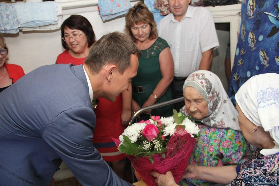 Самой пожилой жительнице Татарстана исполнилось 109 лет