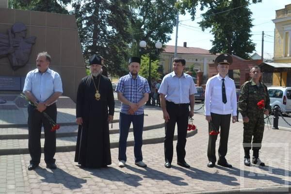 В Чистополе прошел митинг, посвященный Дню памяти и скорби