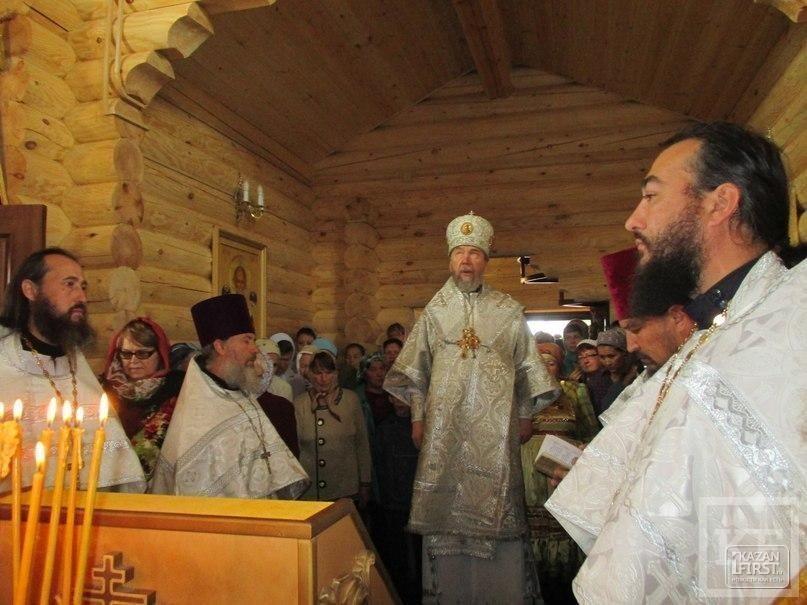 В Нижнекамском районе открылся кряшенский храм