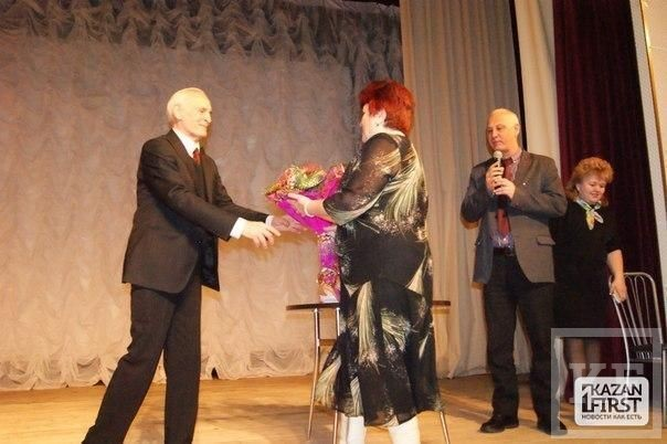 Сегодня актёр Василий Лановой посетил Чистополь