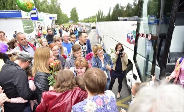 Челнинские «Бисеринки» вернулись домой