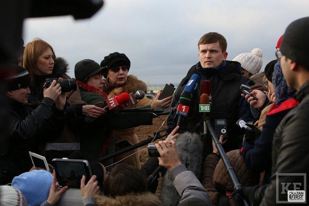 Катастрофа Боинга в Казани: около трагедии и место крушения