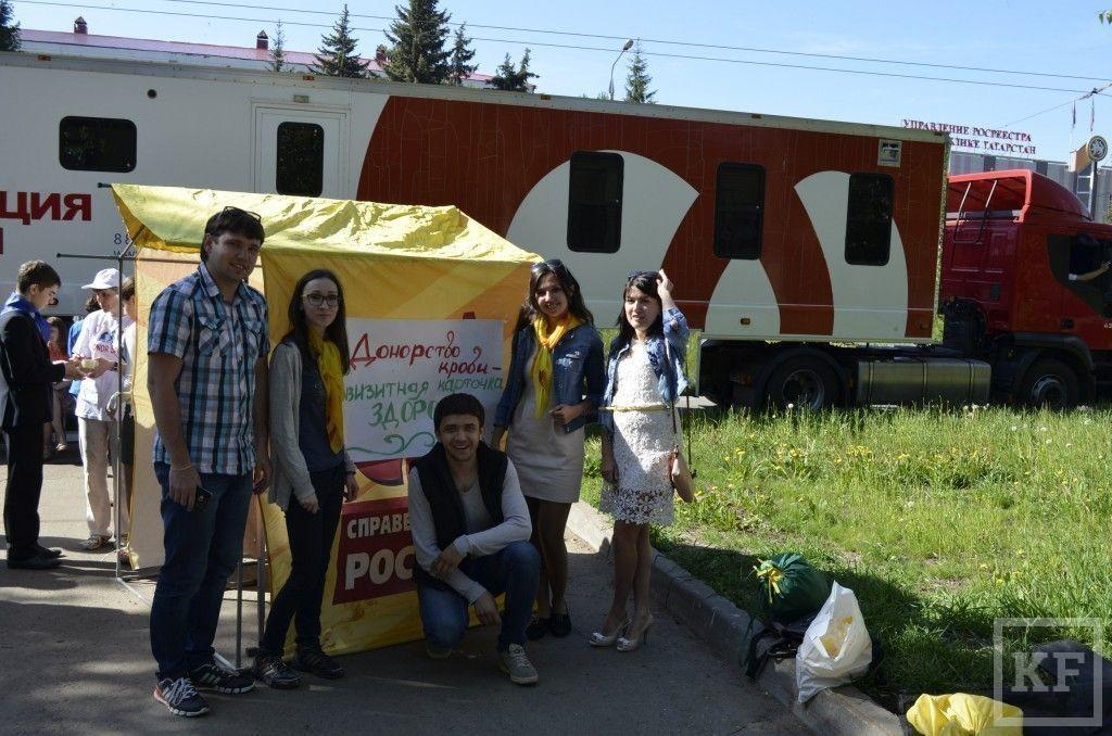 Активисты «Справедливой России» приняли участие в акции по сбору крови