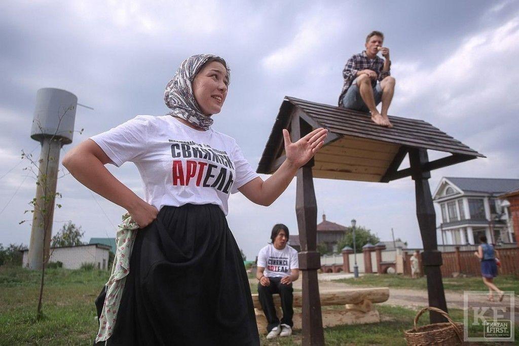 В Свияжске презентовали проект «Свияжск АРТель»