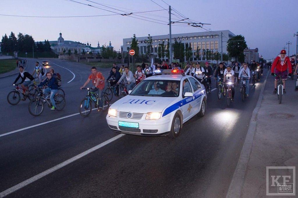 «Звездная велоночь» в Казани