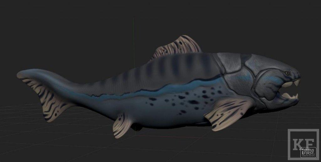 В Музее естественной истории можно покормить рыб размером с  «Камаз»