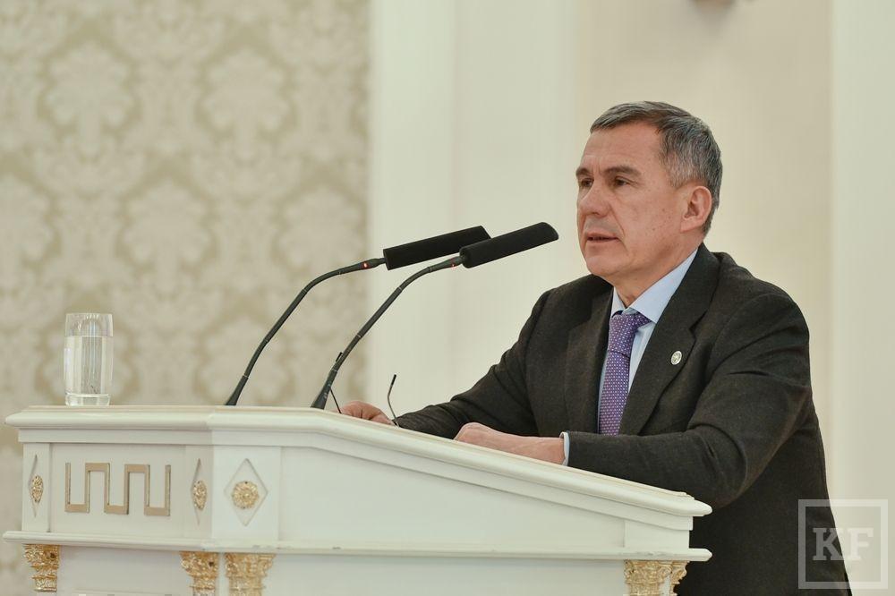 Рустам Минниханов: республика выдержит кризис, Татарстан продолжит движение вперед