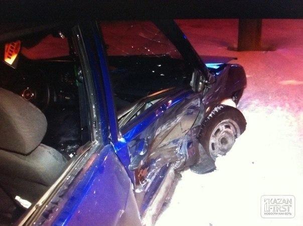 В Казани туман стал причиной аварии на Танковом кольце