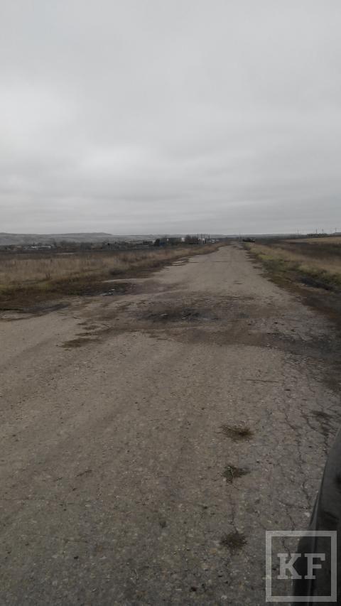 Житель поселка Таллы-Куль Бавлинского района просит отремонтировать дорогу