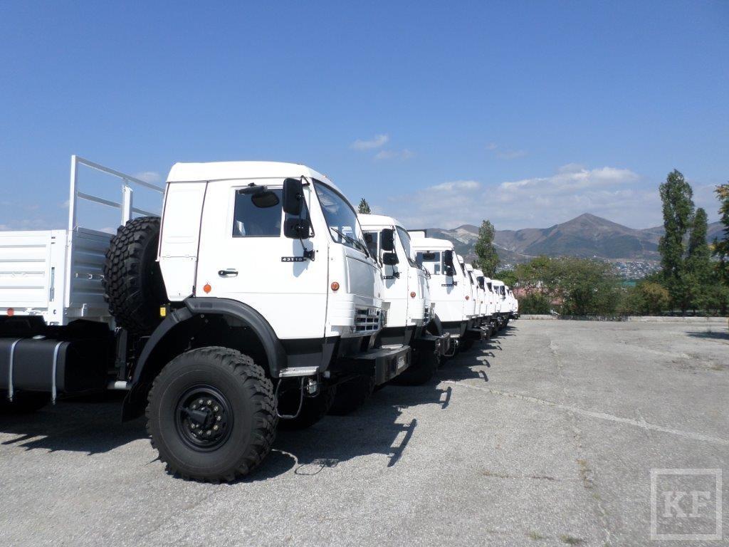«Камаз» отгрузил в Африку и Афганистан очередную партию грузовиков для ООН
