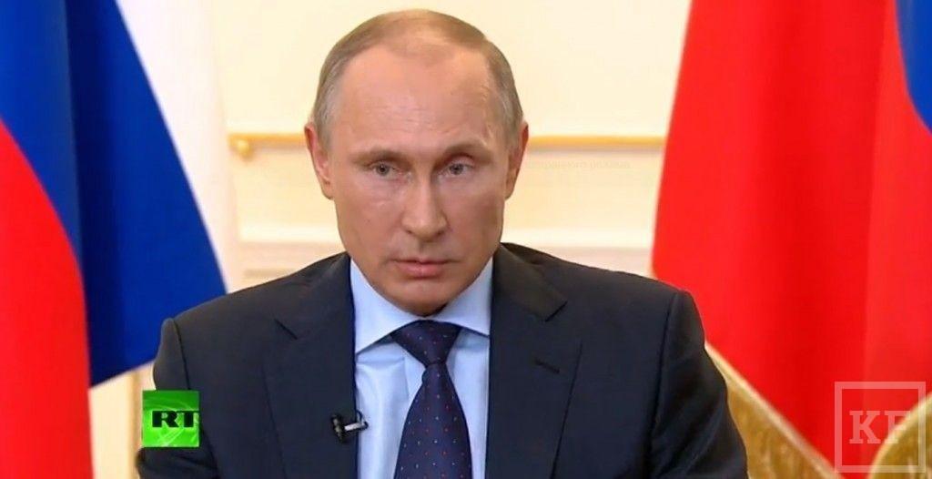 Владимир Путин: «Необходимости вводить российские войска в Крым нет»