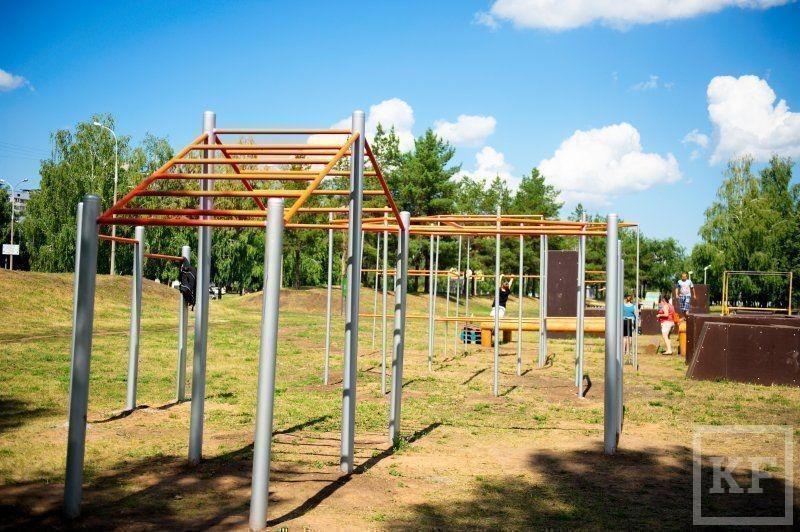 Новые площадки появились в челнинском парке «Гренада» [фото]
