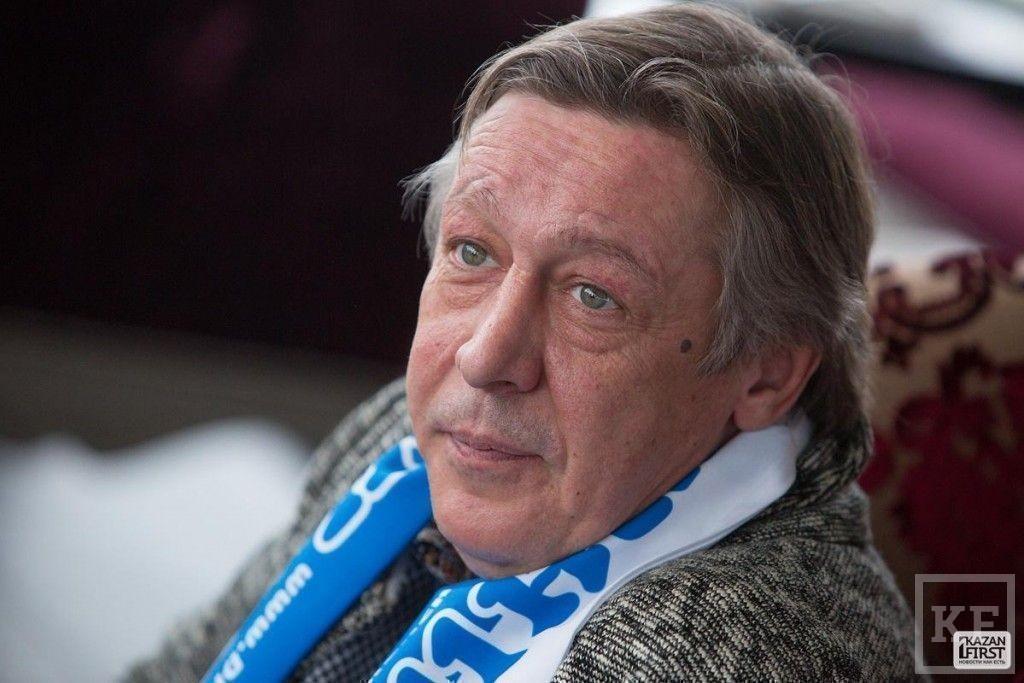 Михаил Ефремов в Казани: «Олимпиада – это понты»