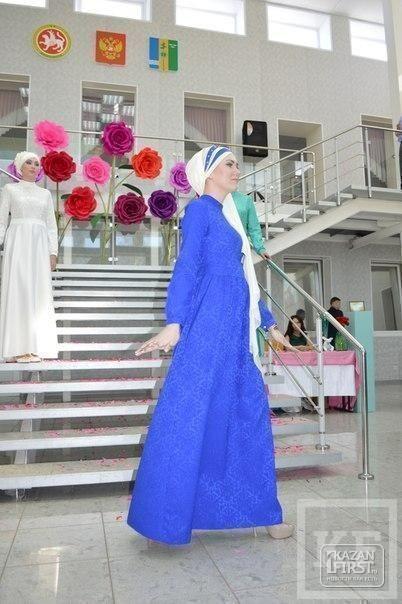 Альфия Хуснутдинова: «Красиво завязанный платок подчеркивает красоту мусульманской девушки, придает ей очарование»