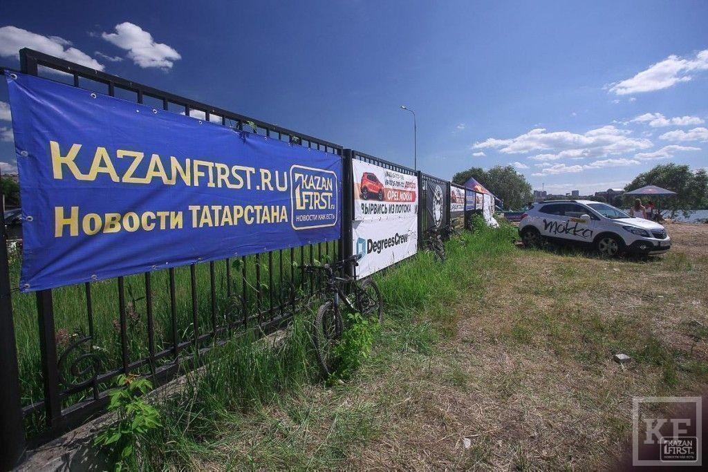 В Казани прошел первый чемпионат по вейкбордингу