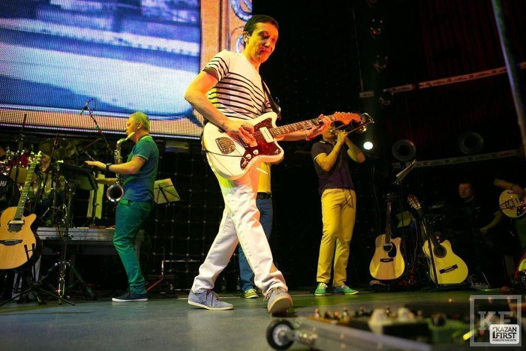 В Казани прошёл концерт легендарной группы «Браво»