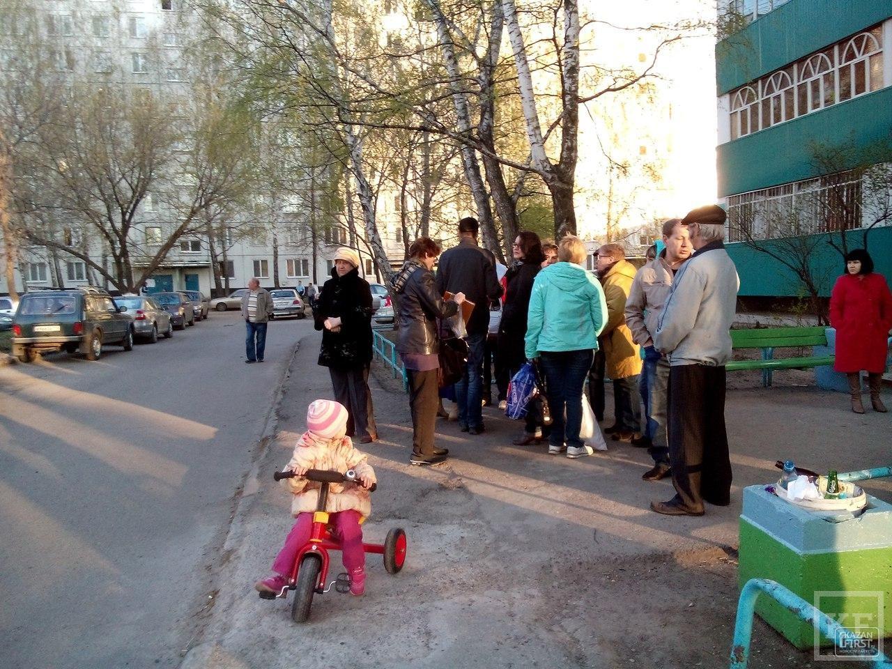 Чтобы защитить cквер 70-летия Победы от точечной застройки, жители Челнов готовы встать в живую цепь