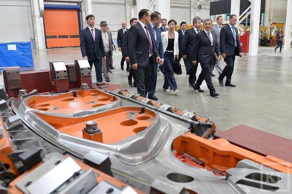 В Елабуге запущен «ключевой проект локализации» Ford Sollers