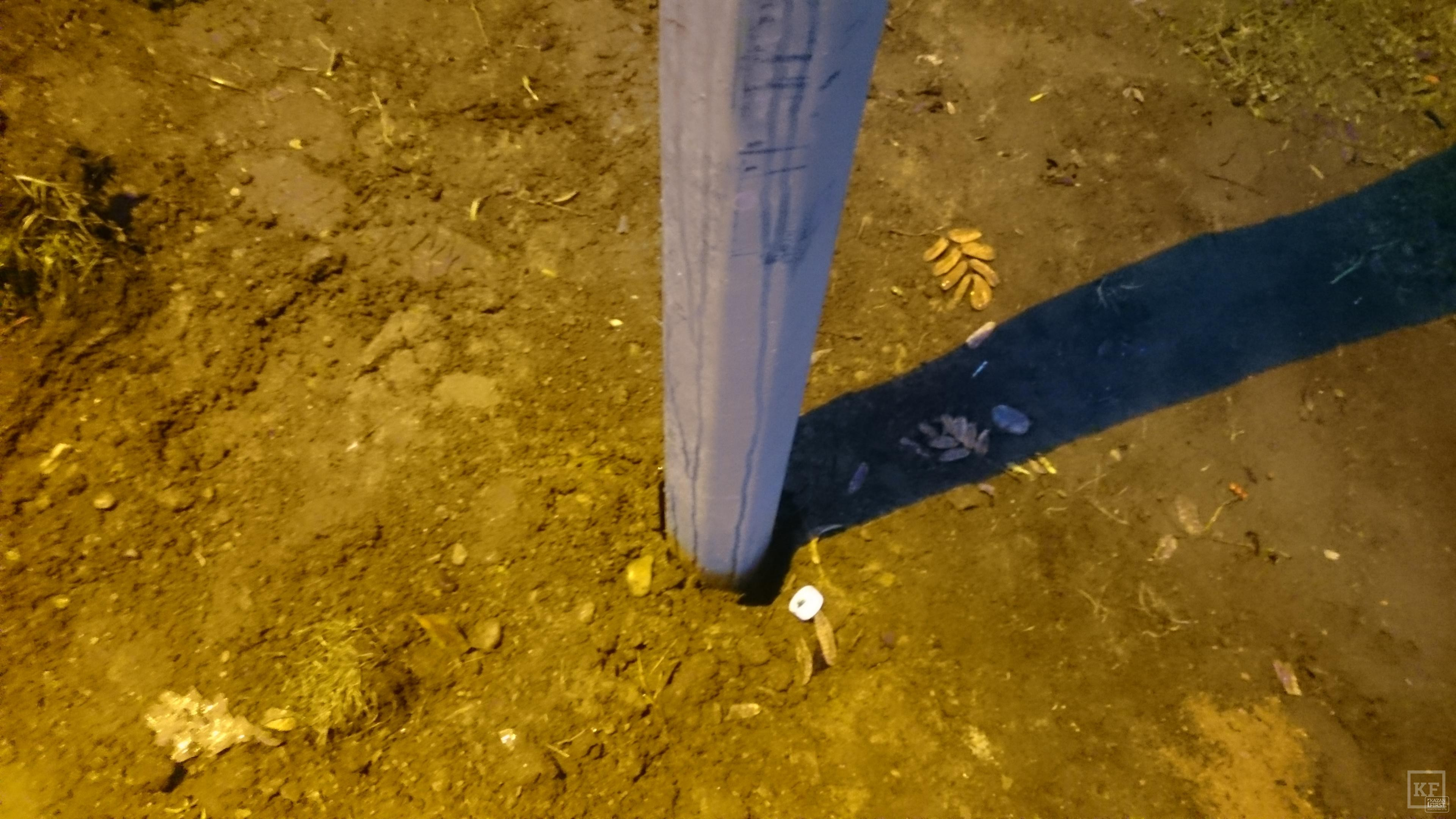 Новые фонари в реконструированном парке Победы в Челнах шатаются от малейшего порыва ветра и грозят упасть прямо на головы прохожим