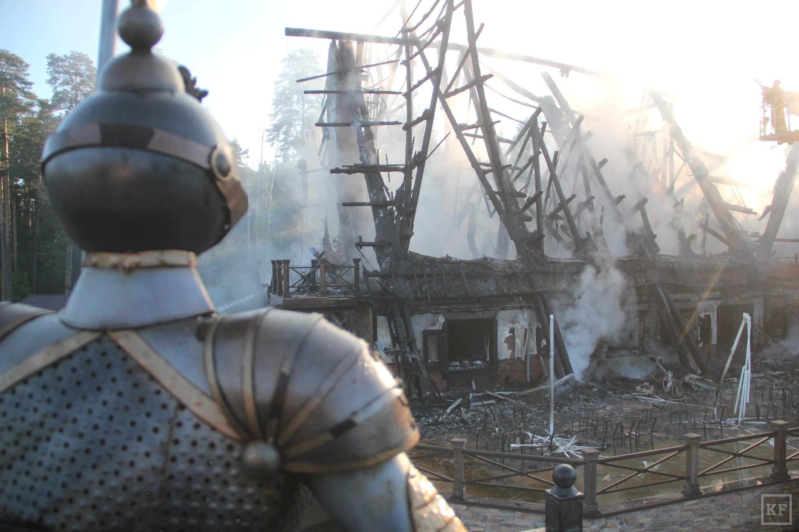 МЧС: при пожаре в ресторане «Нарат» в Казани никто не пострадал