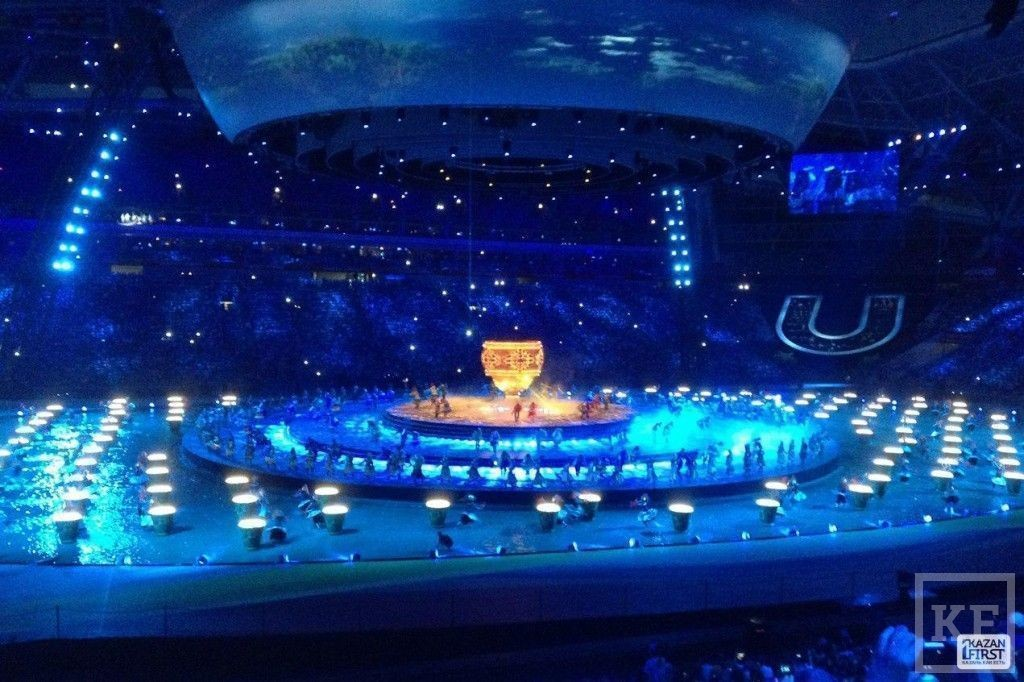 Открытие Универсиады в Казани: Сочи брошен смелый вызов