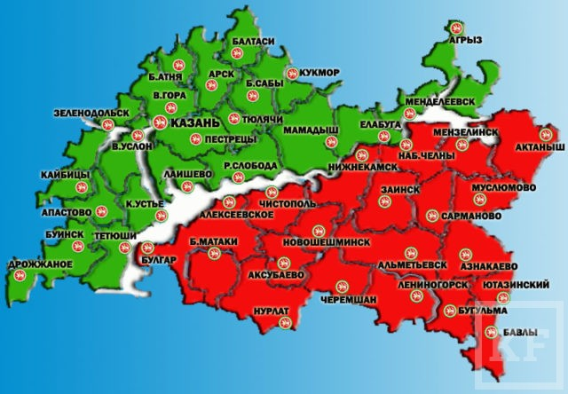 Tatarstan-Karta
