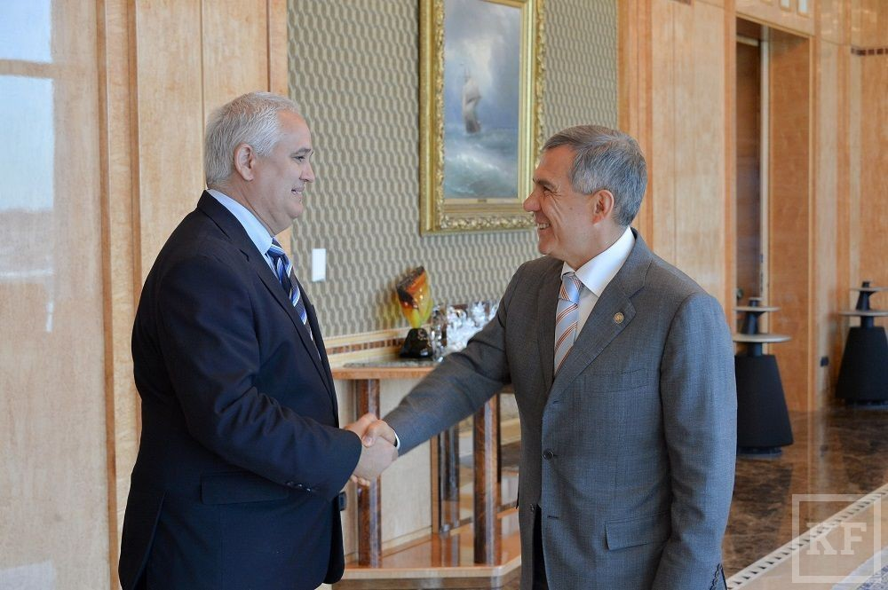 Посол Кубы в России посетил сегодня Казань
