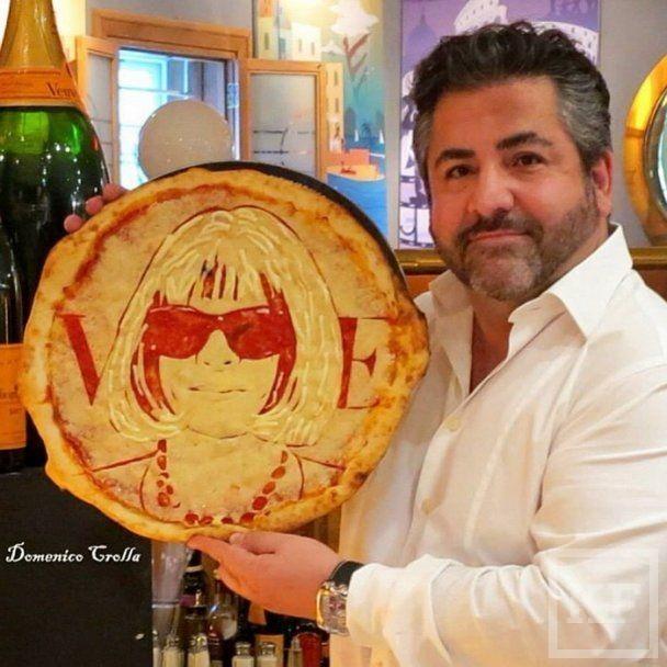 В США продают пиццу с портретами знаменитостей [фото]