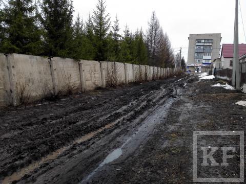 Жители Лениногорска жалуются на бездорожье