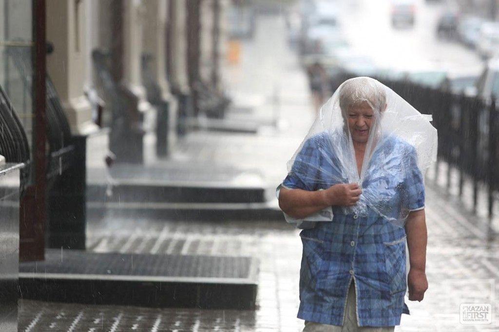 В Казани прошёл дождь