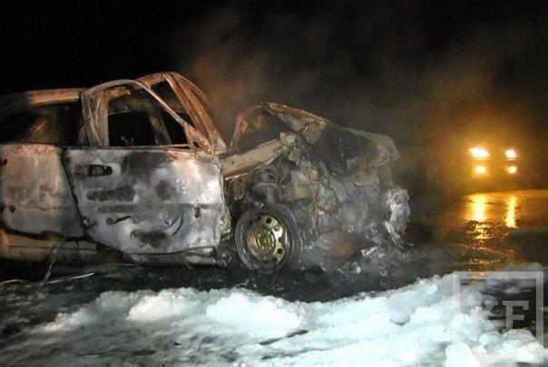 ДТП под Саратовом: в автомобиле из Татарстана погибли водитель и два пассажира
