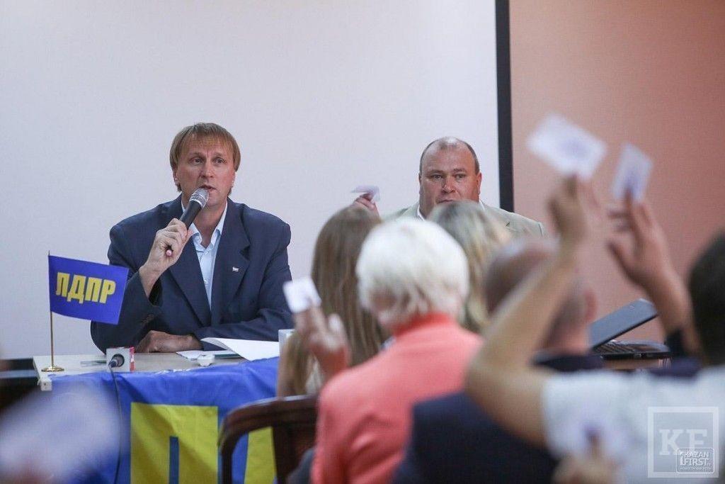 Владимир Жириновский идёт на выборы в Татарстане