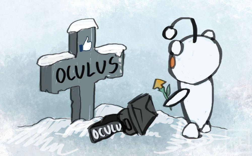 После сообщения о покупке Oculus Rift от нее отвернулись все разработчики игр