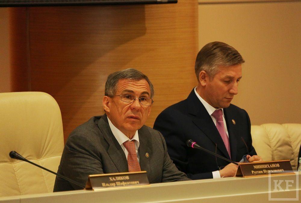 Минниханов призвал выбивать долги