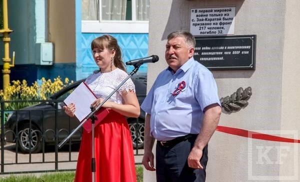 В Лениногорске открыли Аллею воинской славы