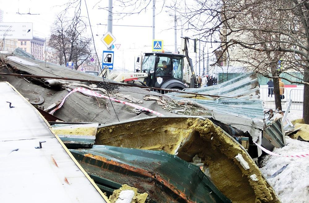В Казани на этой неделе снесли еще 16 торговых павильонов. За право арендовать землю предприниматели судятся годами