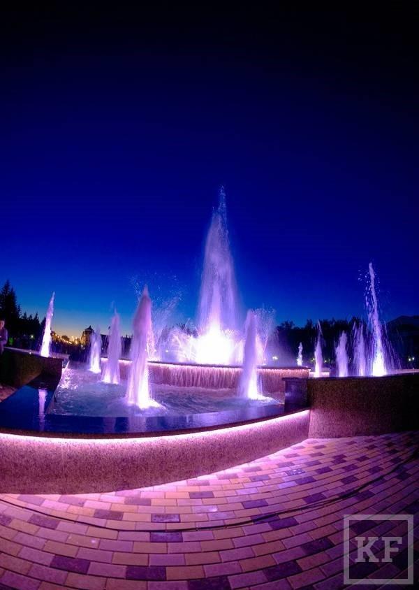 Исполком Бугульмы опубликовал режим работы нового светомузыкального фонтана