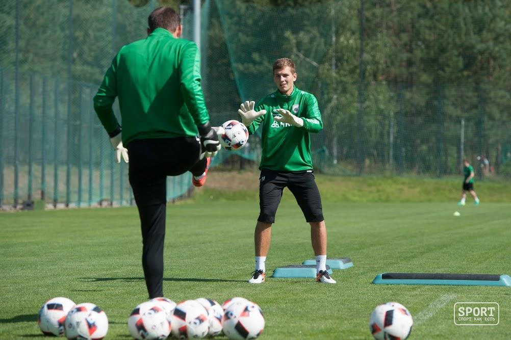 «Рубин» провел открытую тренировку перед матчем с«Анжи»