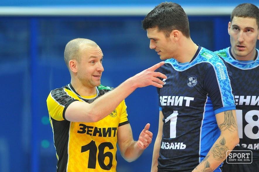 «Зенит-Казань» разгромил «Пари Воллей» вЛиге чемпионов