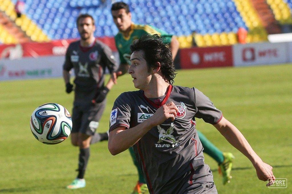 Сердар Азмун в матче Рубин - Кубань - 0:2
