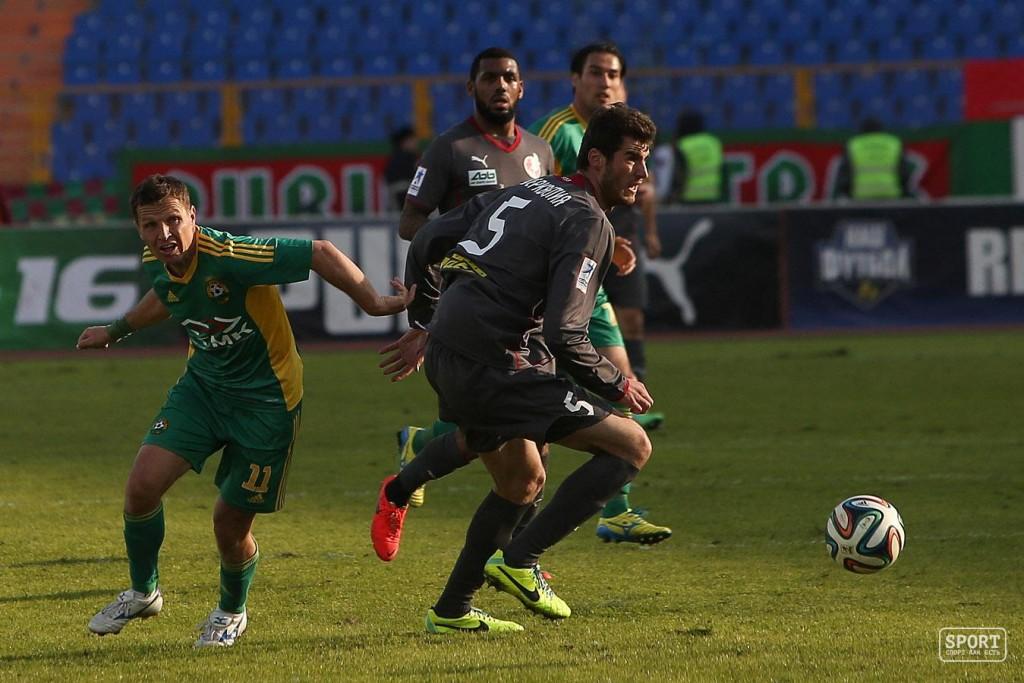 Янн МВила в матче Рубин - Кубань - 0:2