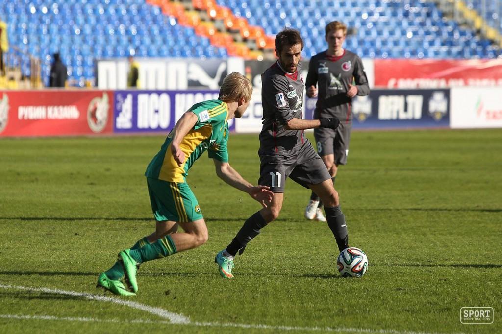 Марко Девич в матче Рубин - Кубань - 0:2
