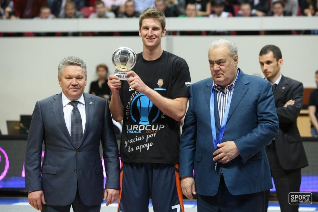 Джастин Доллман - MVP финала Кубка Европы