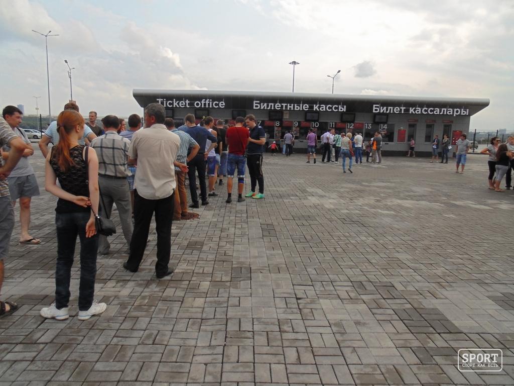 Казань Арена / Стадионы / Все стадионы мира
